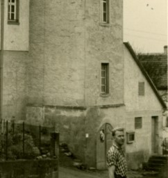 Arrestlokal am Turm in Verrenberg 1958